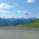 View from the top of Col d'Aspin