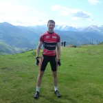 Me at the COl d'Aspin summit
