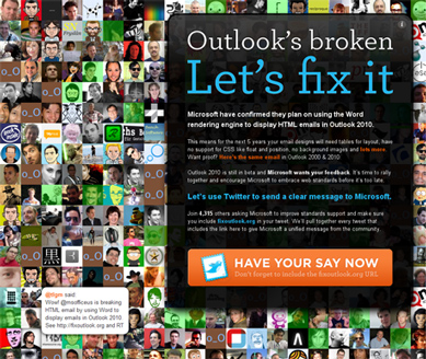 Outlook is broken - let's fix it!