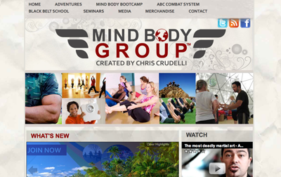Mind Body Group (Chris Crudelli). Martial arts and fitness.
