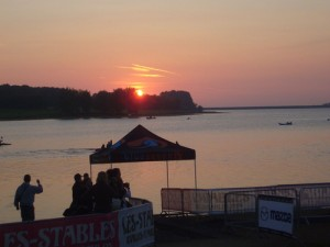 Rutland Water, home of the Vitruvian Triathlon